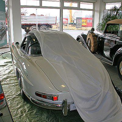 История на покривалото за кола